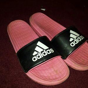 Adidas womens slides size 9